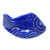 Decorative Toilet Bolt Cover - Fish design - Blue