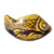 Decorative Toilet Bolt Cover - Fish design - Brown