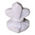 Toilet bolt cap - decorative Fleur-de-Lis design - Beige