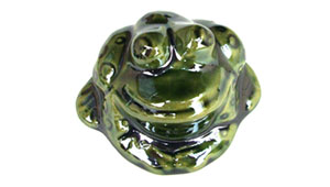 Toilet bolt cap - decorative Frog design