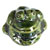Toilet bolt cap - decorative Frog design - Green
