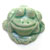 Toilet bolt cap - decorative Frog design - Light Green