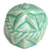 Toilet bolt cap - decorative Sea Star design - Light Green