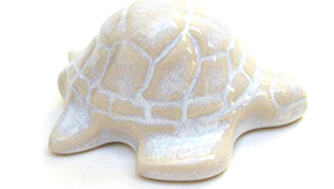 Toilet floor bolt cap - decorative Turtle design
